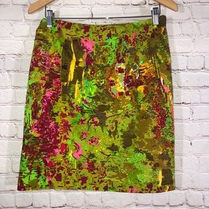 ☀️Multi Pattern Embellishment Skirt By Etcetera